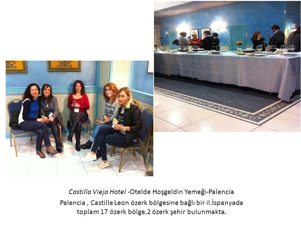 Castilla Vieja Hotel -Otelde Hoşgeldin Yemeği-Palencia