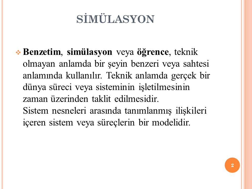 SİMÜLASYON