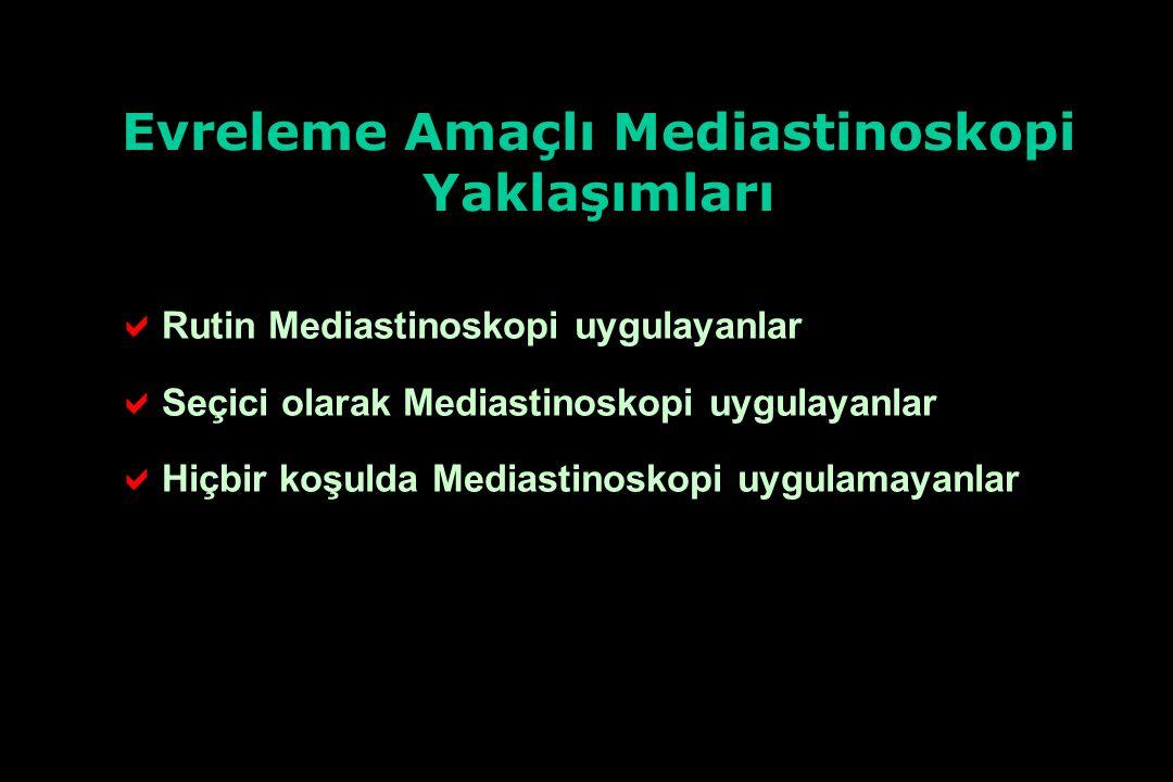 Evreleme Amaçlı Mediastinoskopi
