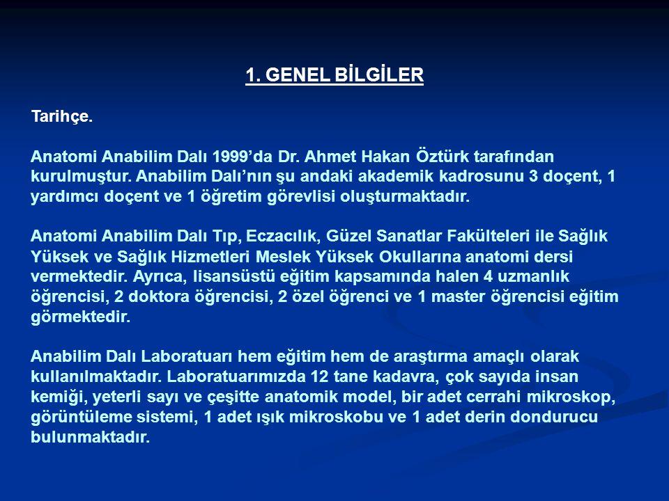 1. GENEL BİLGİLER Tarihçe.