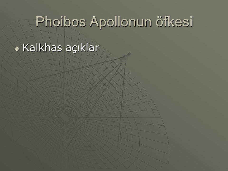Phoibos Apollonun öfkesi