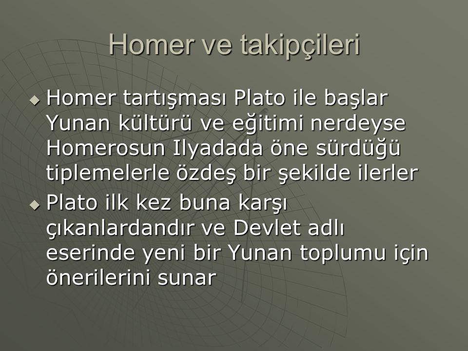 Homer ve takipçileri