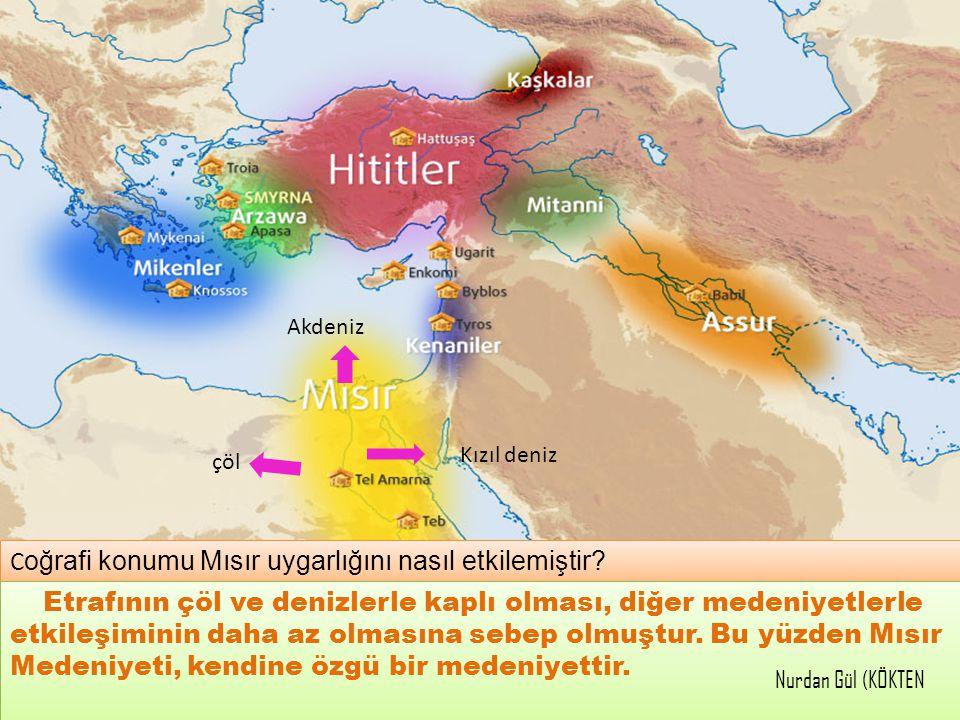 Coğrafi konumu Mısır uygarlığını nasıl etkilemiştir