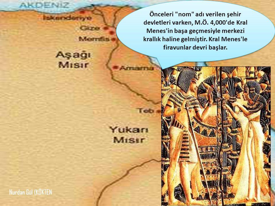 Önceleri nom adı verilen şehir devletleri varken, M. Ö