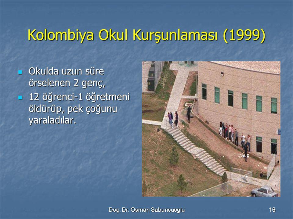 Kolombiya Okul Kurşunlaması (1999)