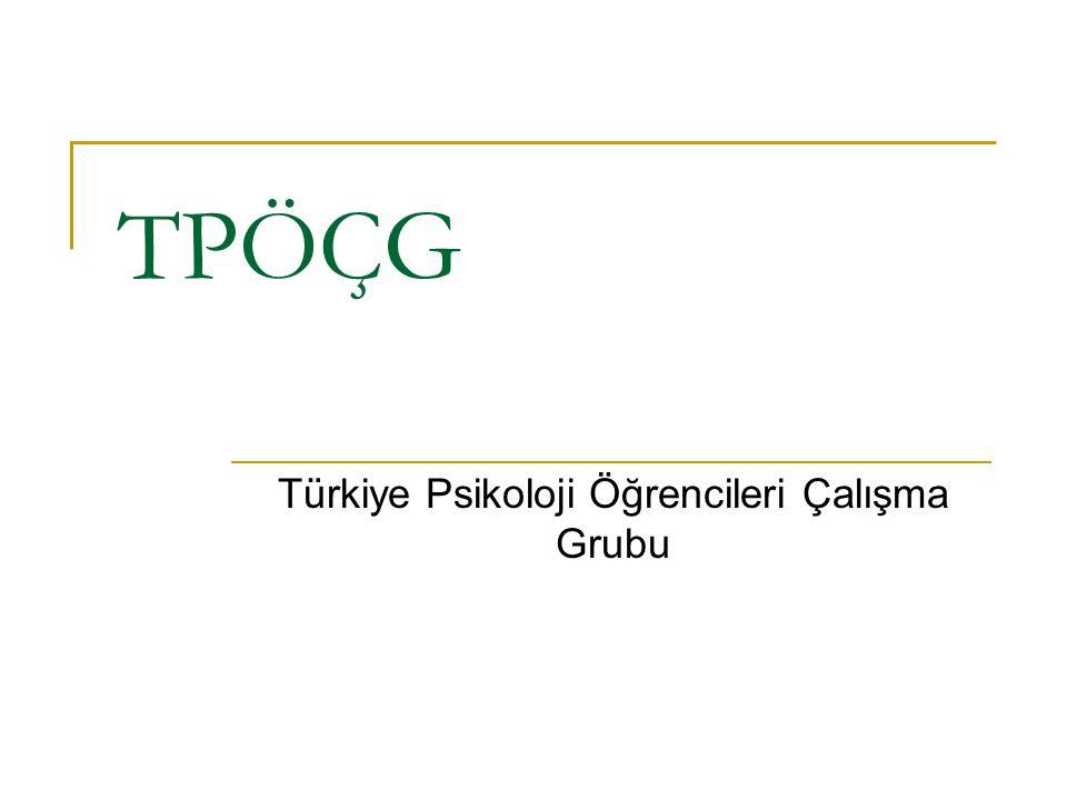 Türkiye Psikoloji Öğrencileri Çalışma Grubu