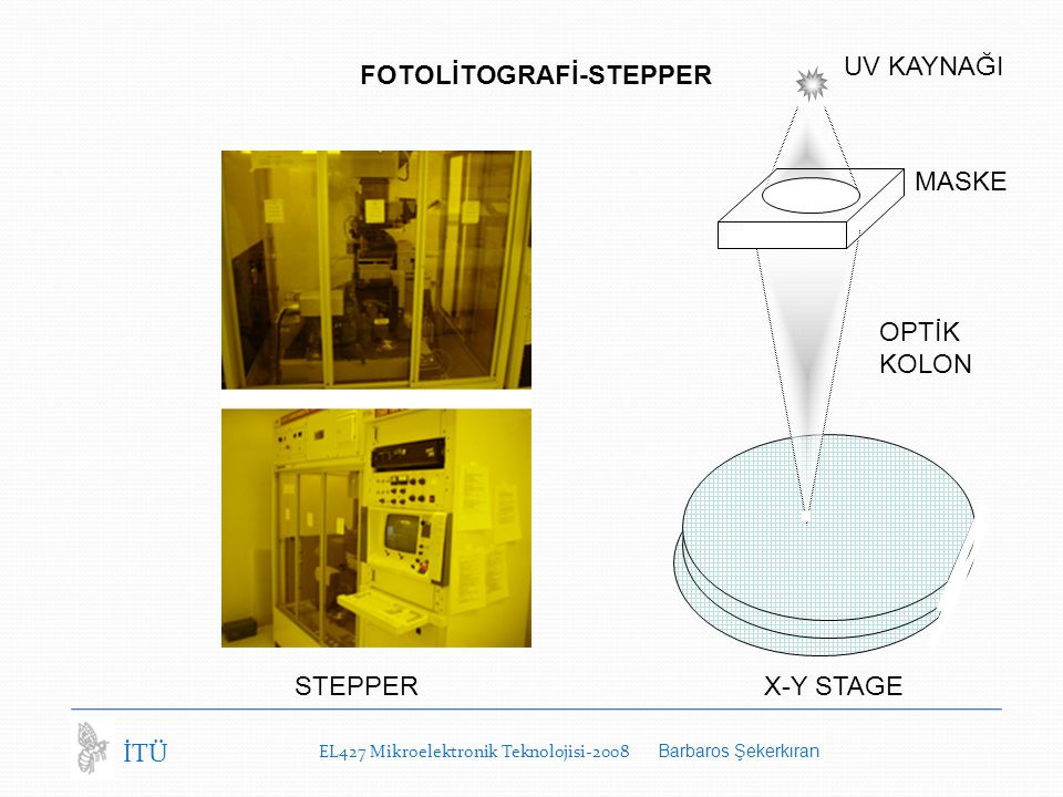 FOTOLİTOGRAFİ-STEPPER