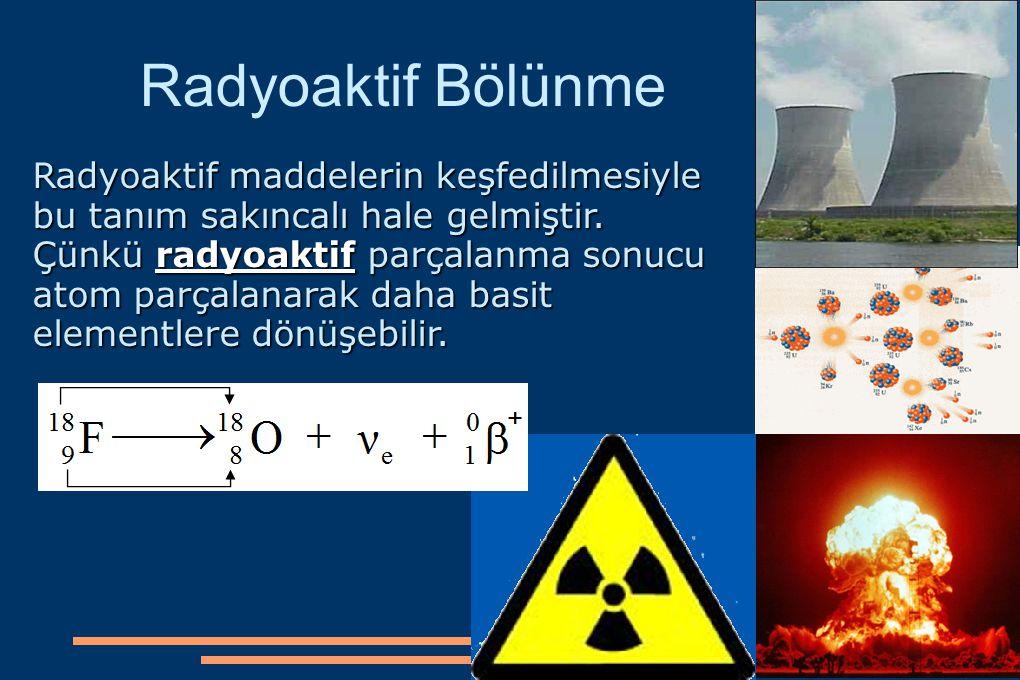 Radyoaktif Bölünme