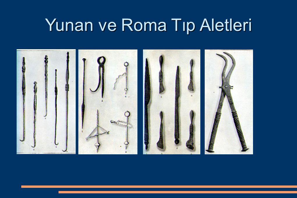 Yunan ve Roma Tıp Aletleri