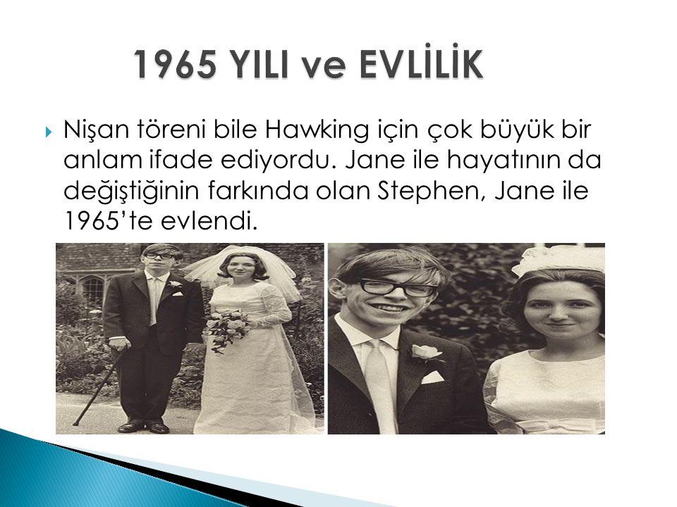 1965 YILI ve EVLİLİK