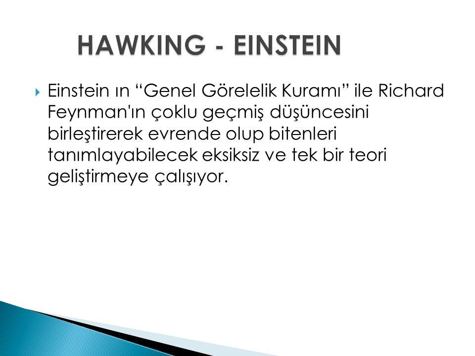 HAWKING - EINSTEIN