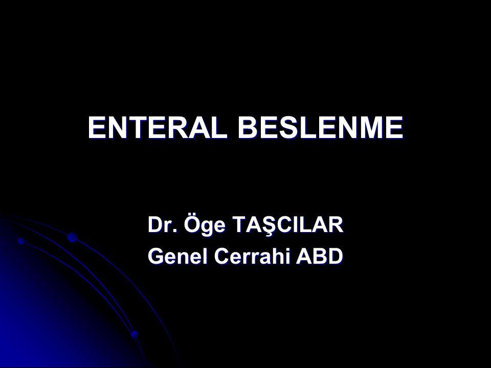 Dr. Öge TAŞCILAR Genel Cerrahi ABD