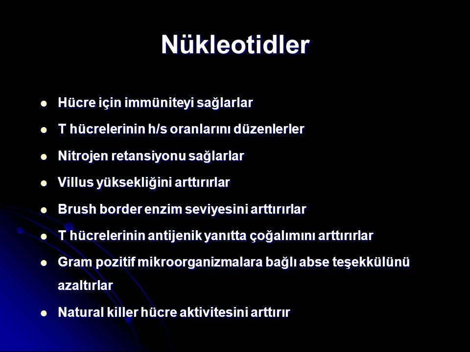 Nükleotidler Hücre için immüniteyi sağlarlar