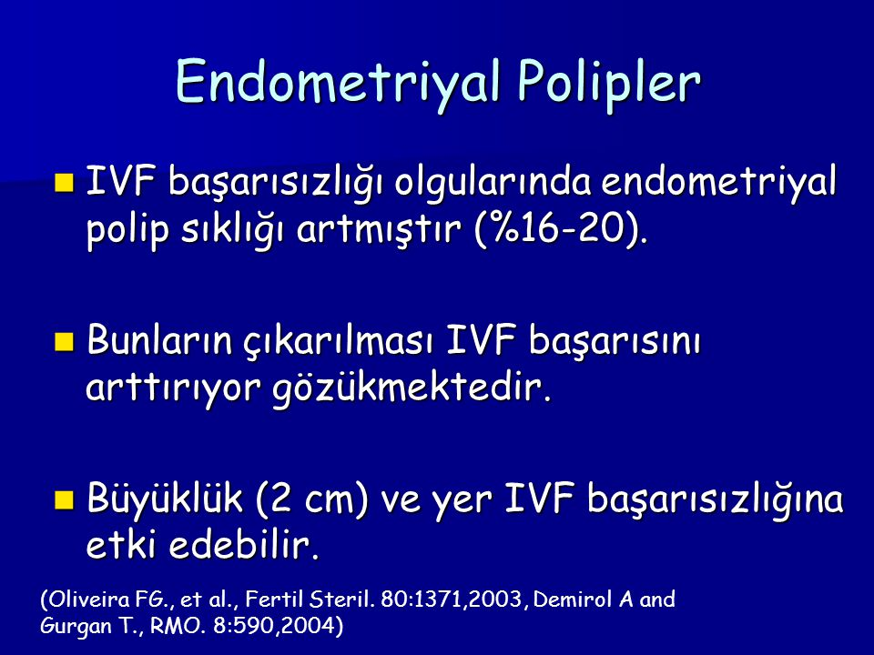 Endometriyal Polipler
