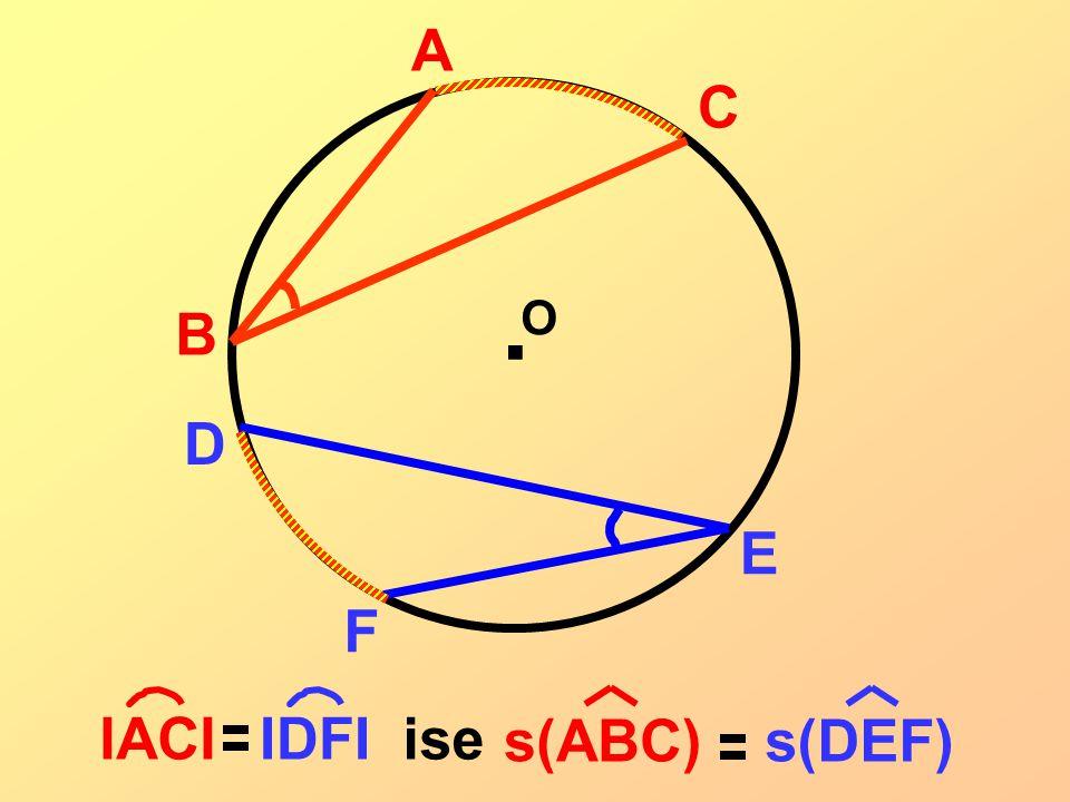 B A C . O D F E IACI IDFI s(ABC) s(DEF) ise