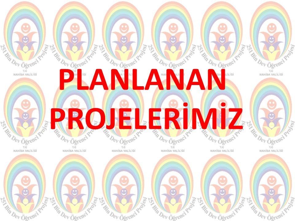 PLANLANAN PROJELERİMİZ