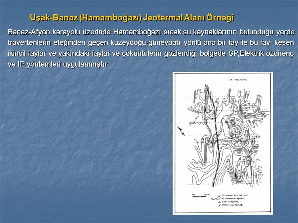 Uşak-Banaz (Hamamboğazı) Jeotermal Alanı Örneği