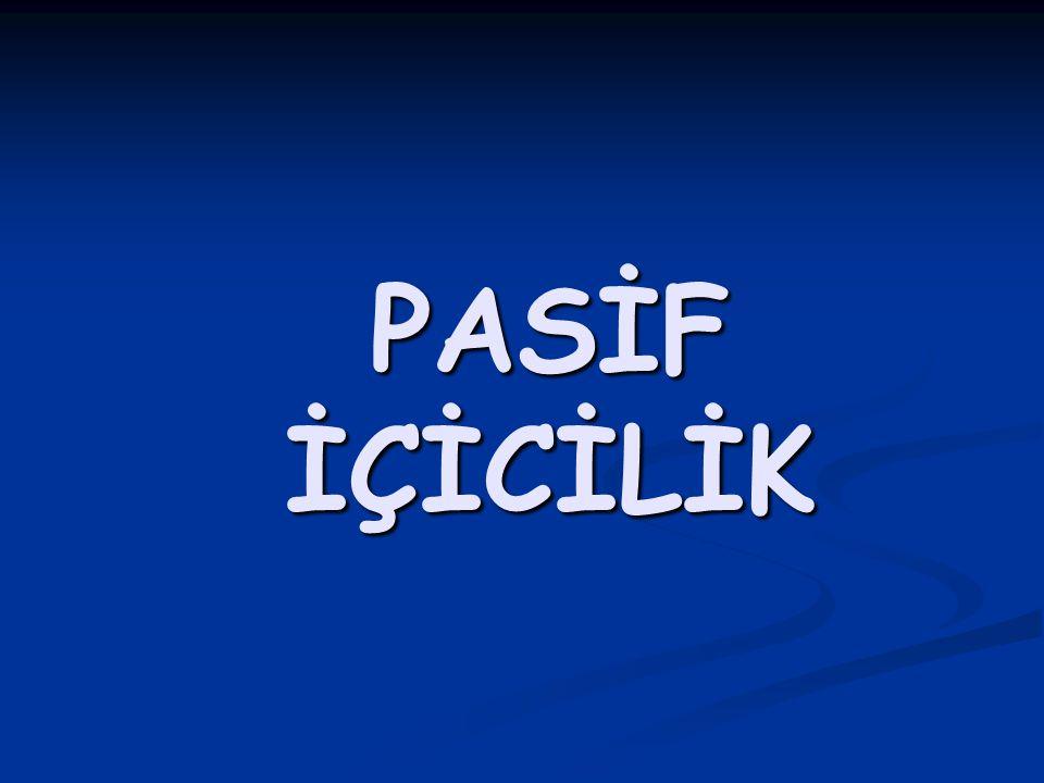 PASİF İÇİCİLİK