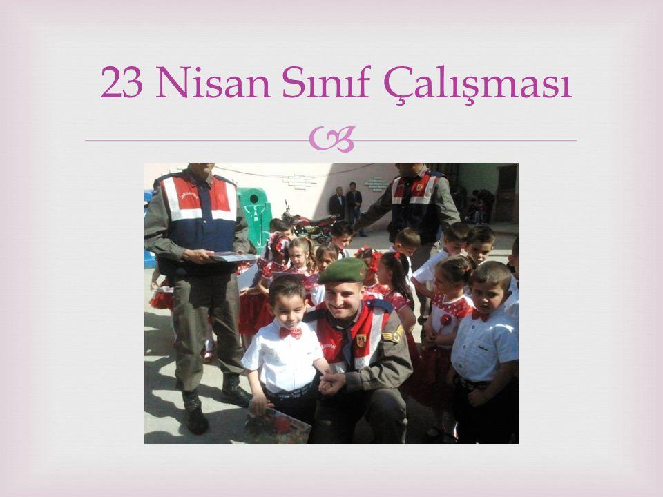 23 Nisan Sınıf Çalışması