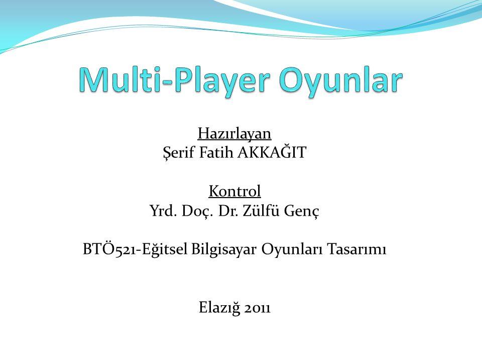 BTÖ521-Eğitsel Bilgisayar Oyunları Tasarımı