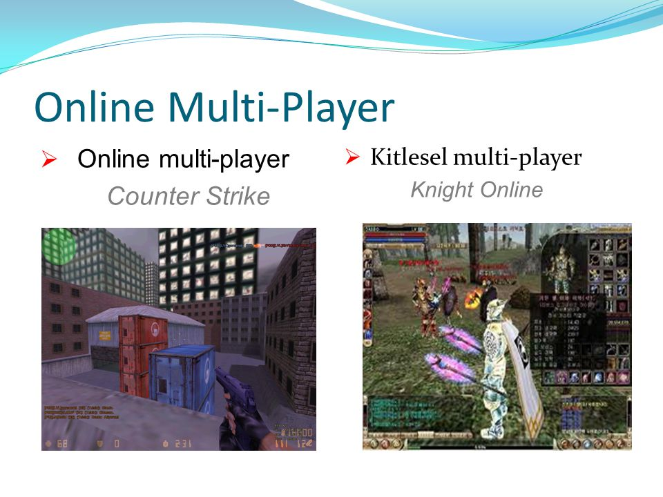 Online Multi-Player Online multi-player Counter Strike