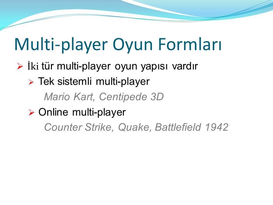 Multi-player Oyun Formları