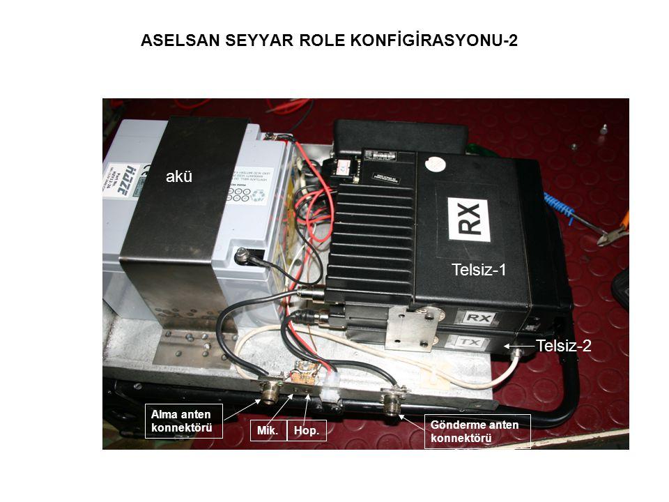 ASELSAN SEYYAR ROLE KONFİGİRASYONU-2