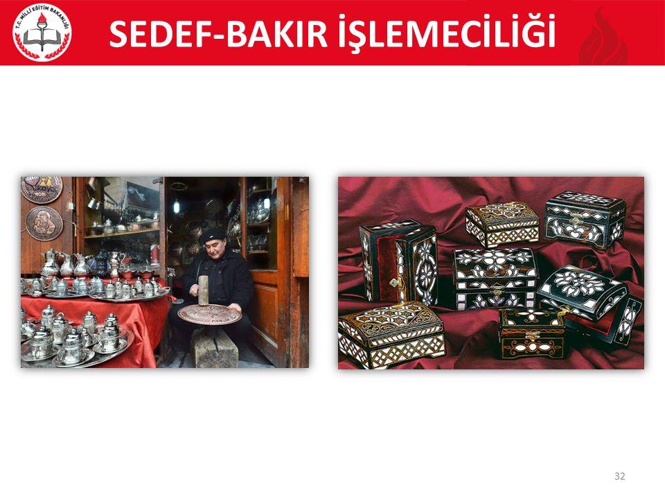 SEDEF-BAKIR İŞLEMECİLİĞİ
