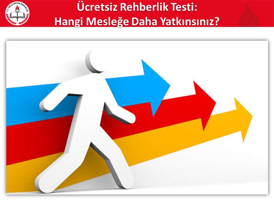 Ücretsiz Rehberlik Testi: Hangi Mesleğe Daha Yatkınsınız