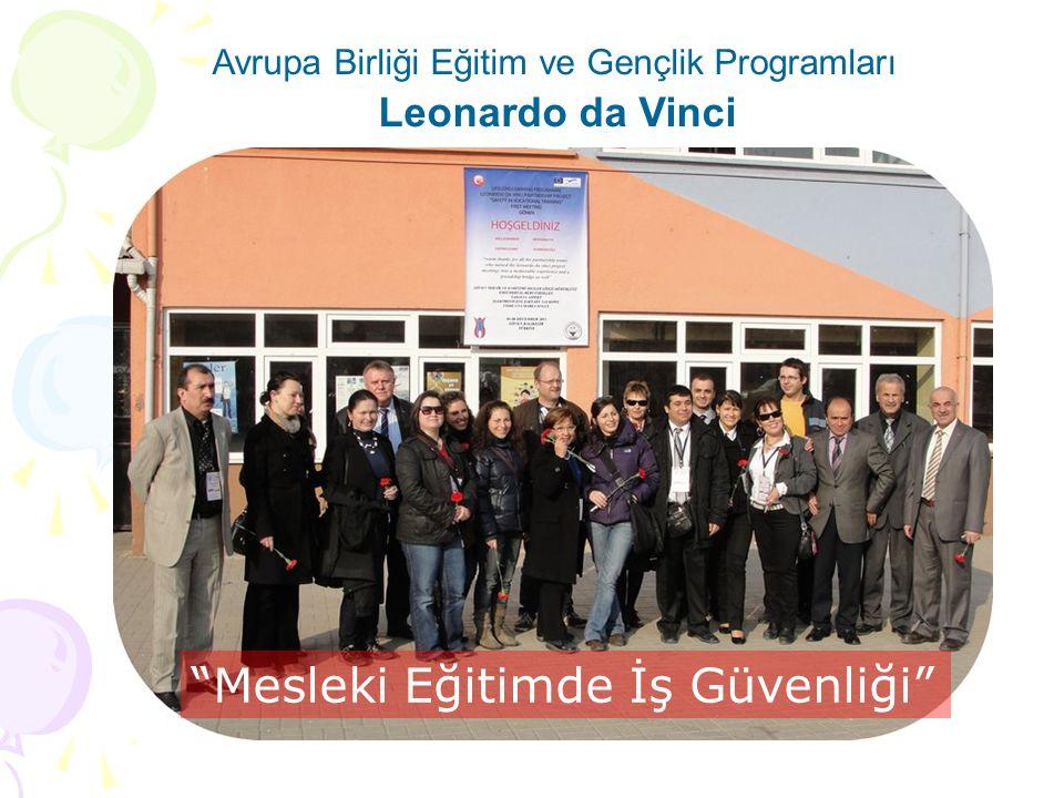 Avrupa Birliği Eğitim ve Gençlik Programları Leonardo da Vinci