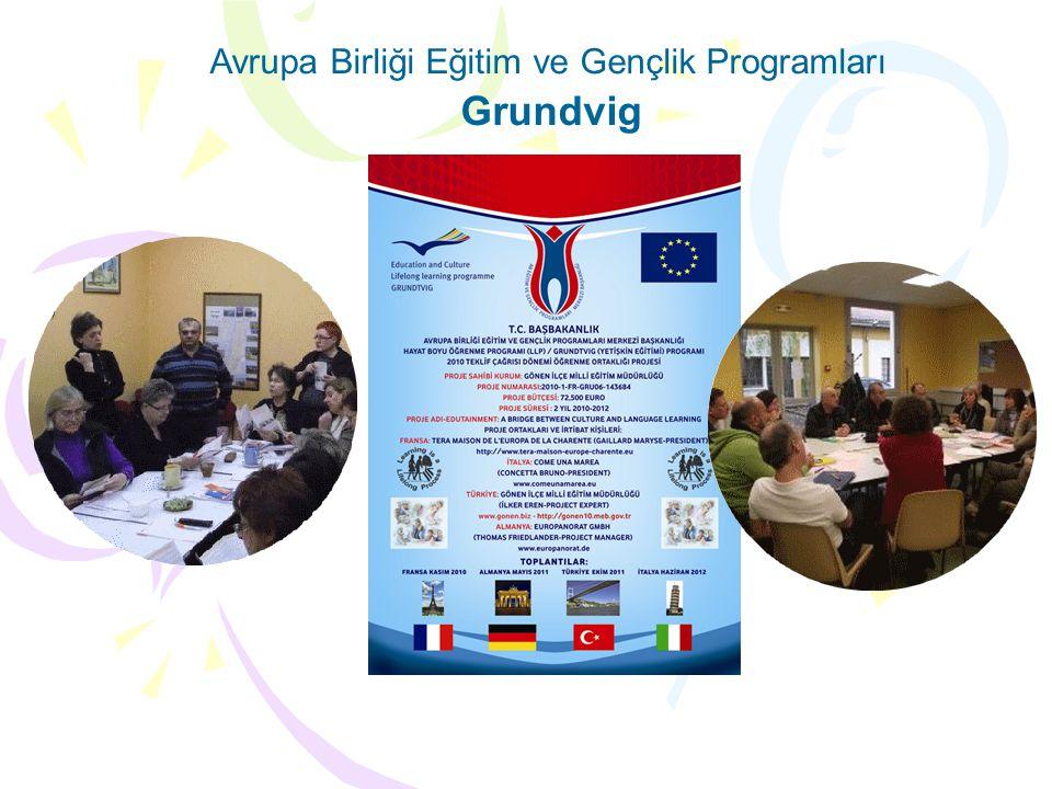 Avrupa Birliği Eğitim ve Gençlik Programları Grundvig