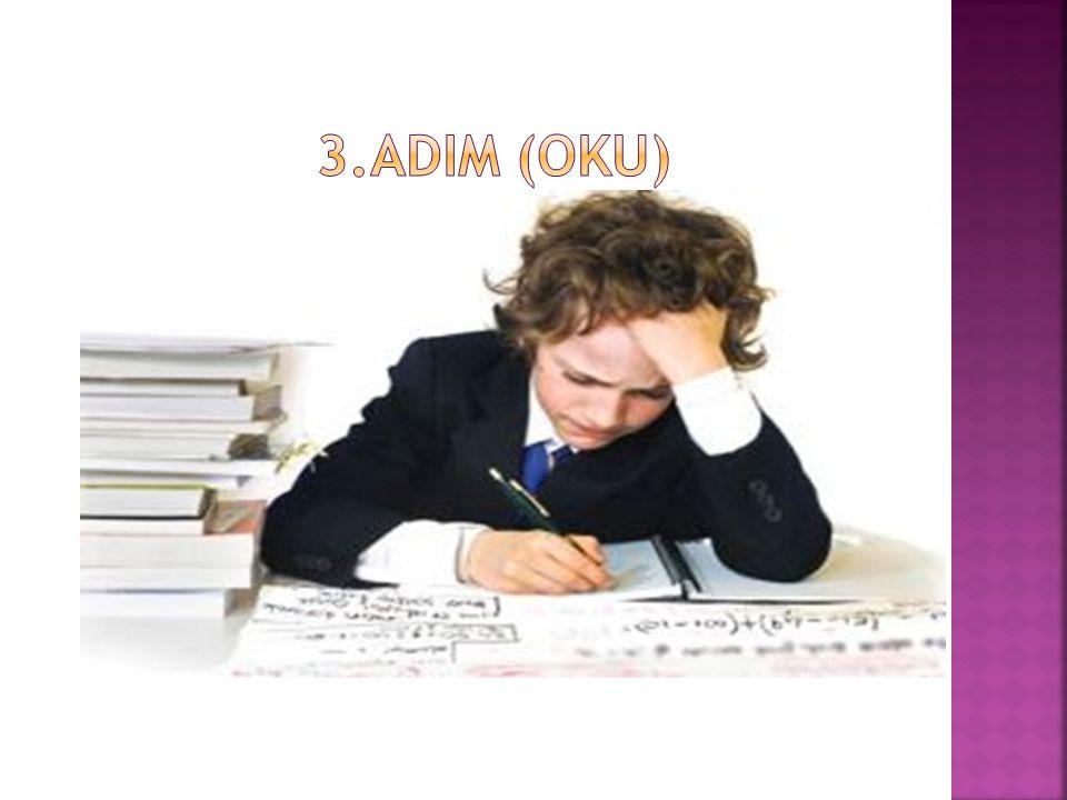 3.ADIM (OKU)