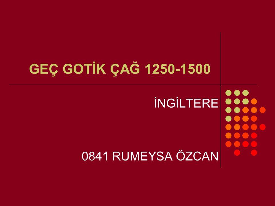 İNGİLTERE 0841 RUMEYSA ÖZCAN