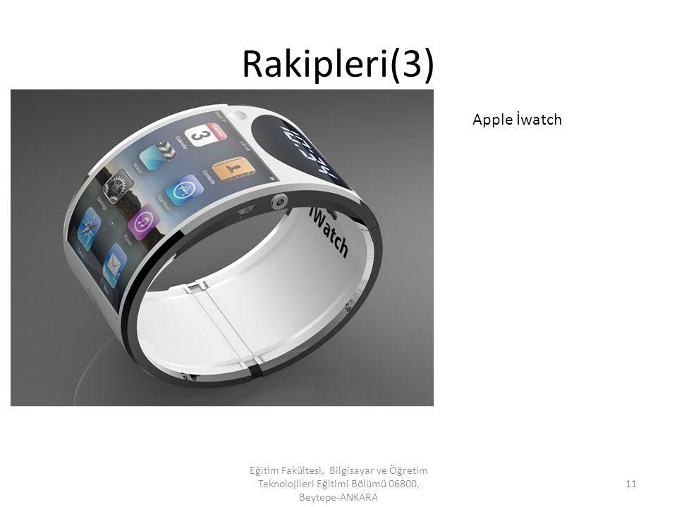 Rakipleri(3) Apple İwatch
