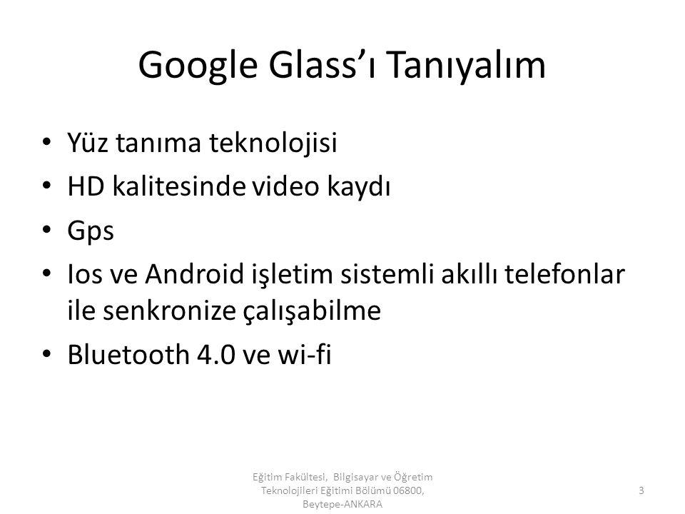 Google Glass'ı Tanıyalım