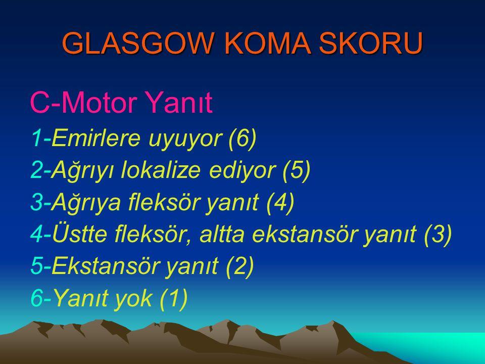 GLASGOW KOMA SKORU C-Motor Yanıt 1-Emirlere uyuyor (6)