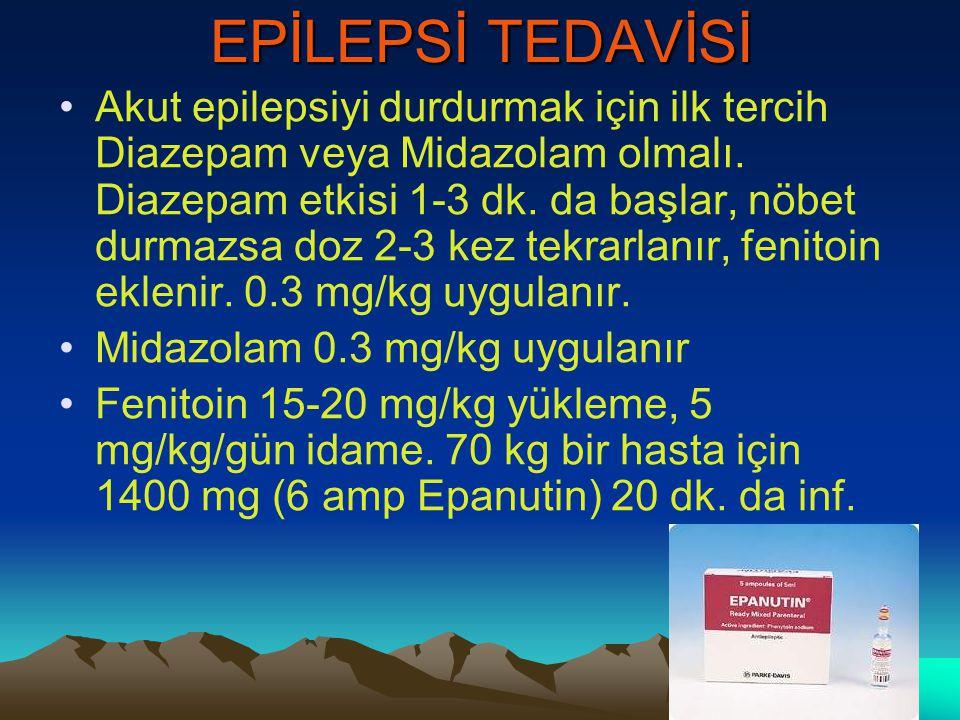 EPİLEPSİ TEDAVİSİ