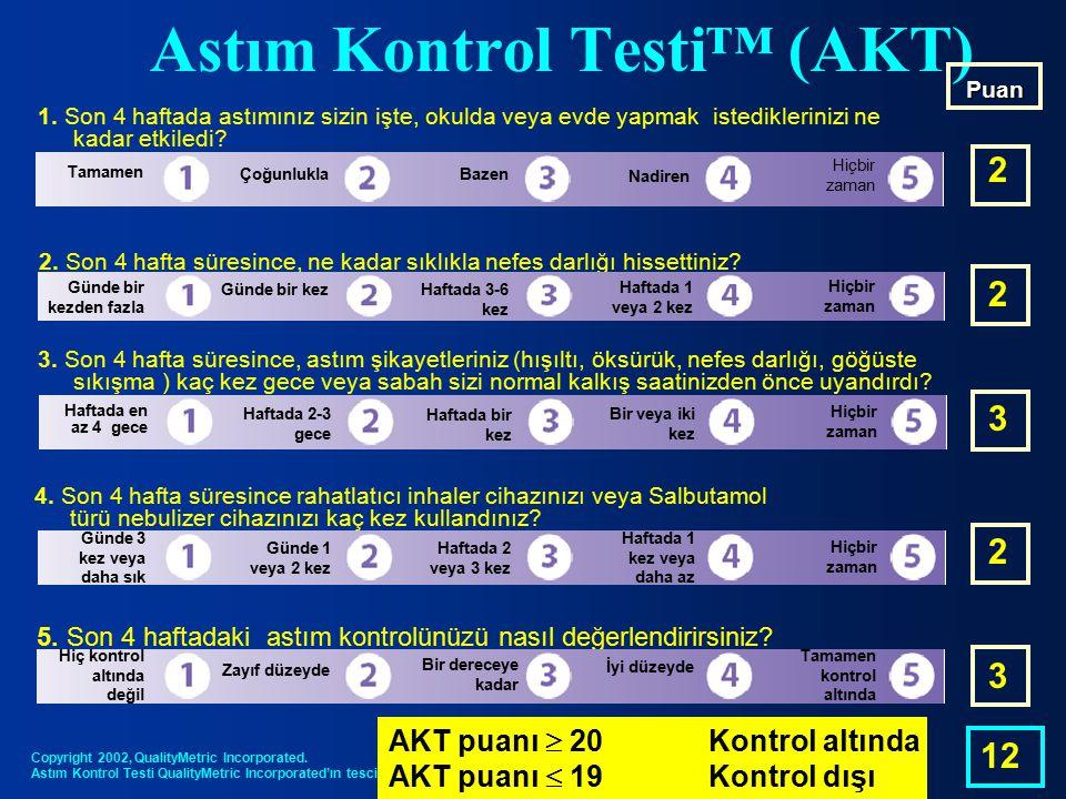 Astım Kontrol Testi™ (AKT)
