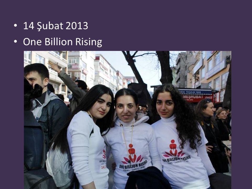 14 Şubat 2013 One Billion Rising