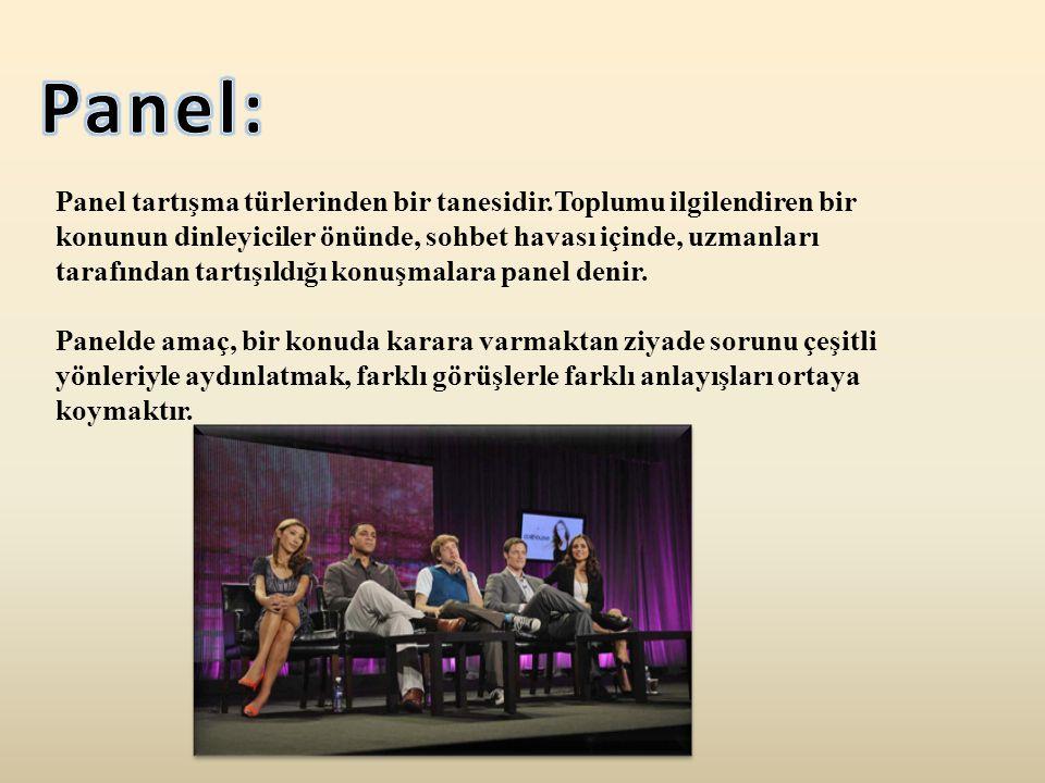 Panel: