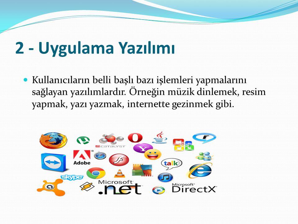 2 - Uygulama Yazılımı