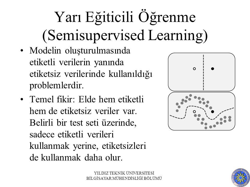 Yarı Eğiticili Öğrenme (Semisupervised Learning)