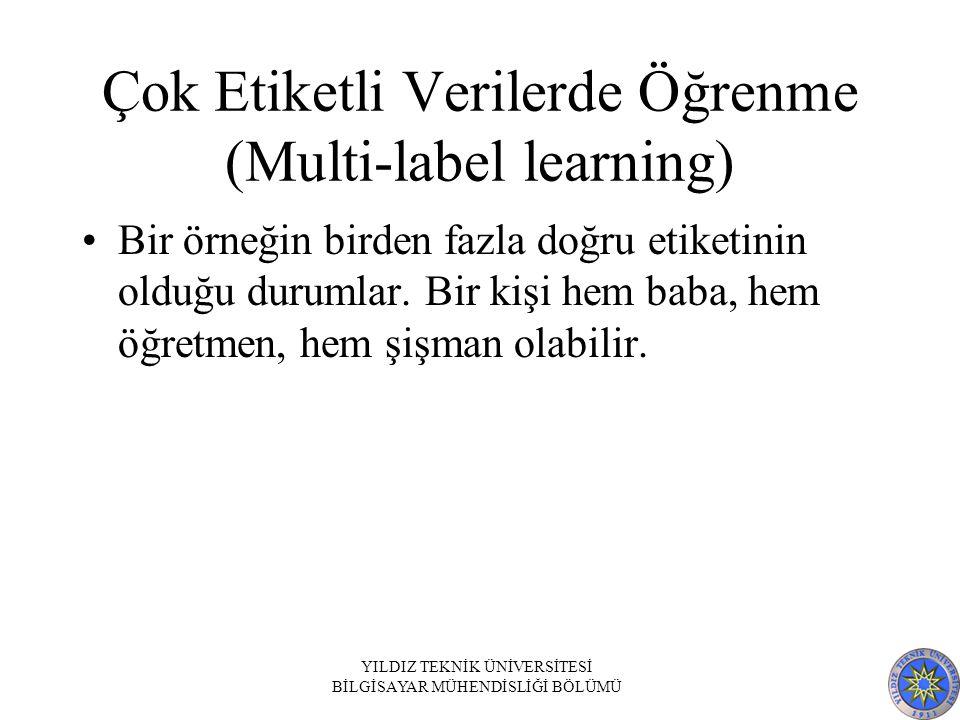 Çok Etiketli Verilerde Öğrenme (Multi-label learning)