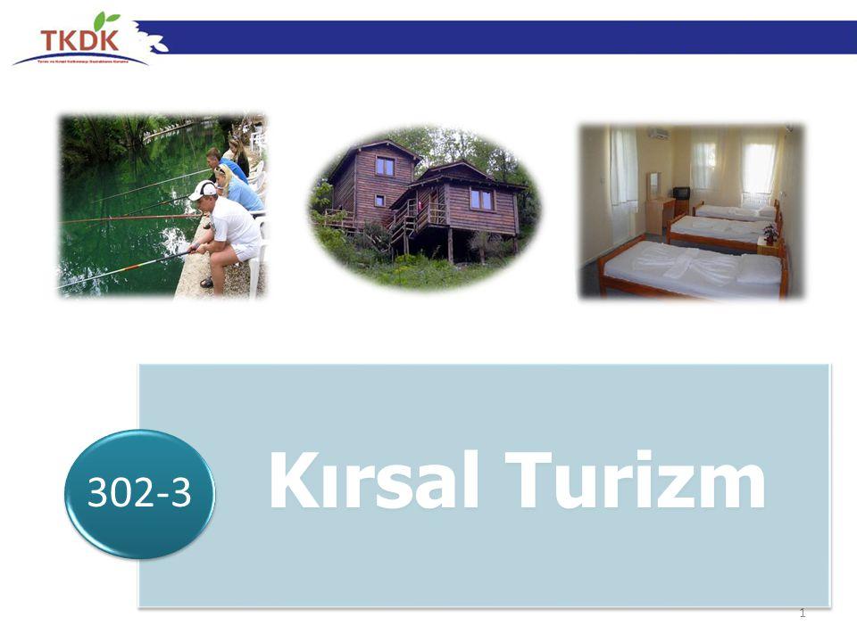 302-3 Kırsal Turizm