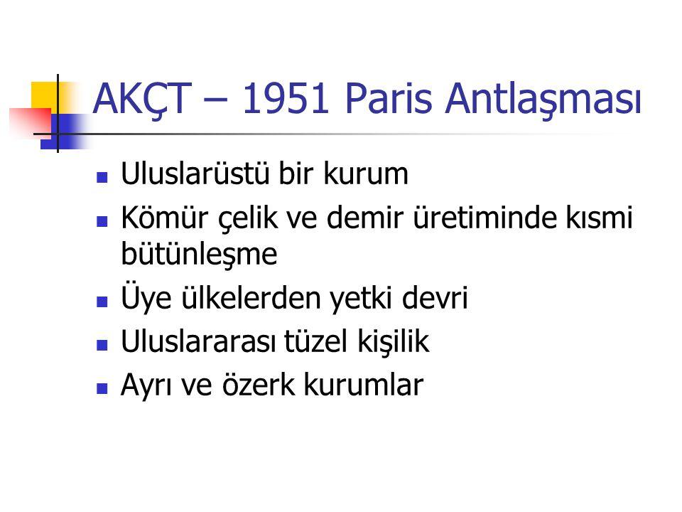 AKÇT – 1951 Paris Antlaşması