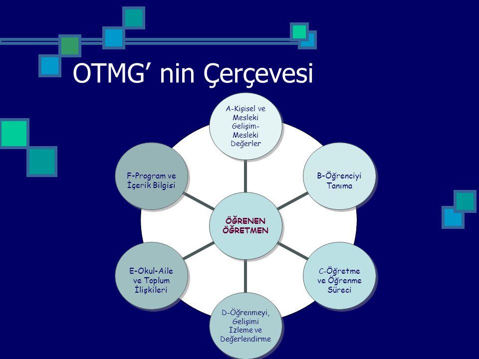 OTMG' nin Çerçevesi