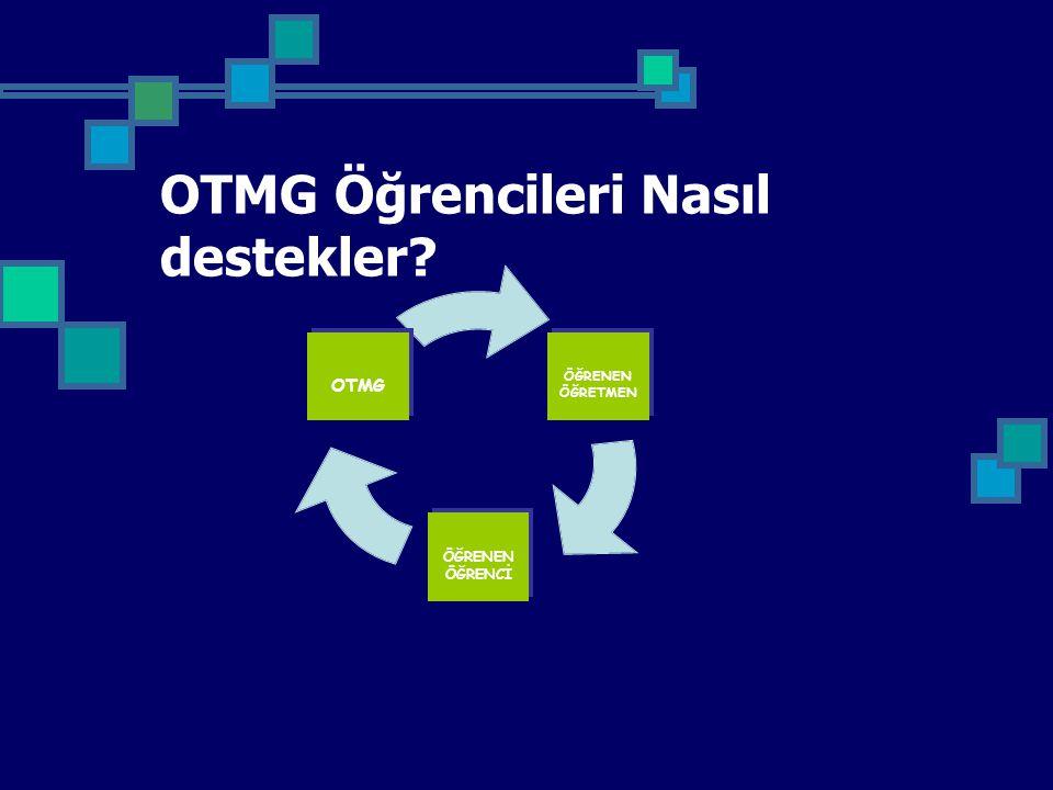 OTMG Öğrencileri Nasıl destekler