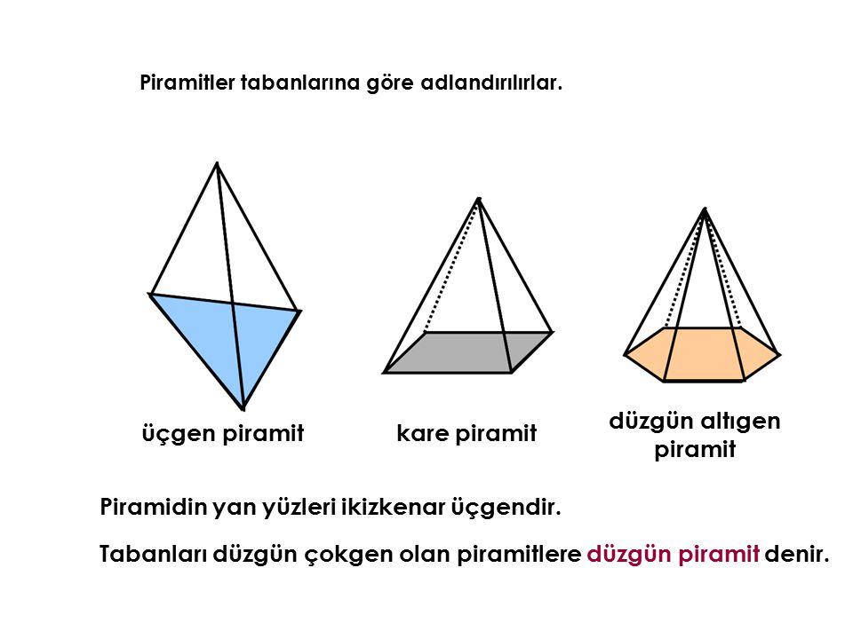 düzgün altıgen piramit