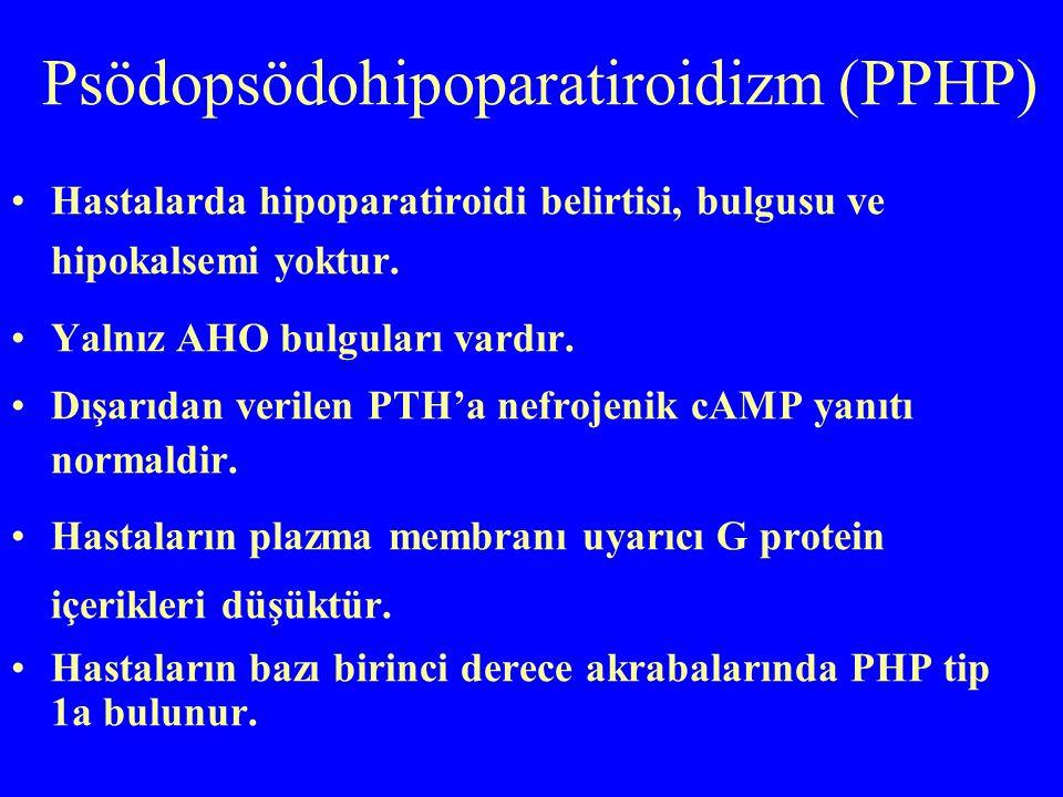 Psödopsödohipoparatiroidizm (PPHP)