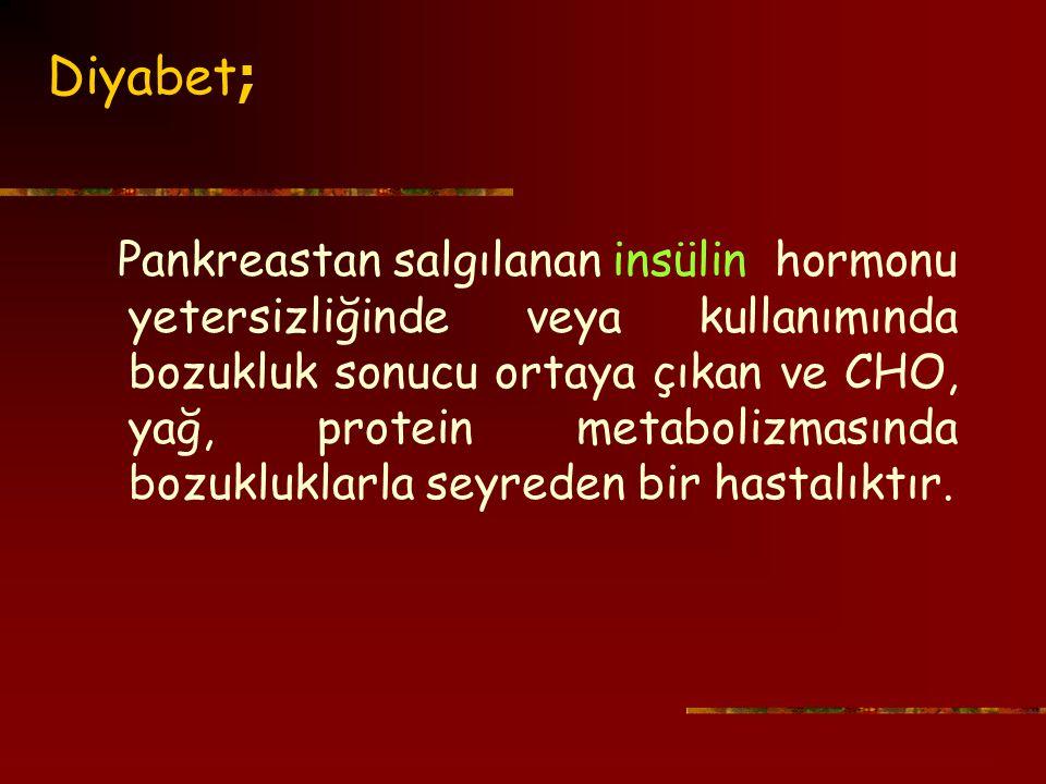 Diyabet;